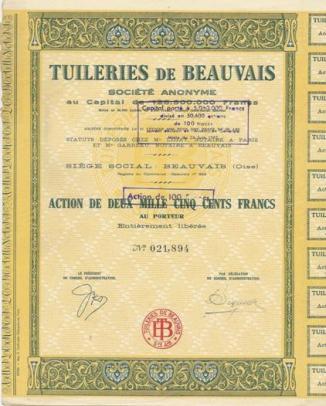Tuileries de beauvais - Le comptoir des tuileries ...