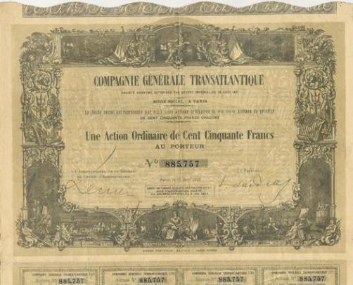 """L'histoire du Paquebot """"le Bourgogne"""" 1684"""